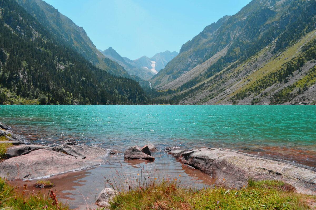 Le lac de Gaube dans les Pyrénées